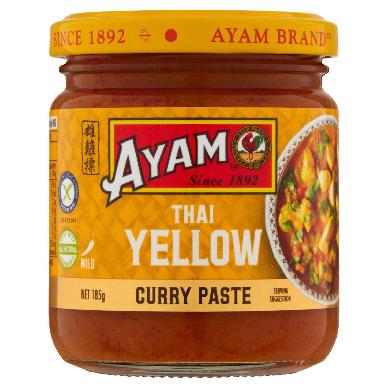 Ayam Thai Yellow Curry Paste, 185 Gram