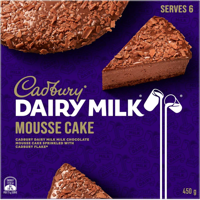 Cadbury Dairy Milk Mousse Cake, 450 Gram