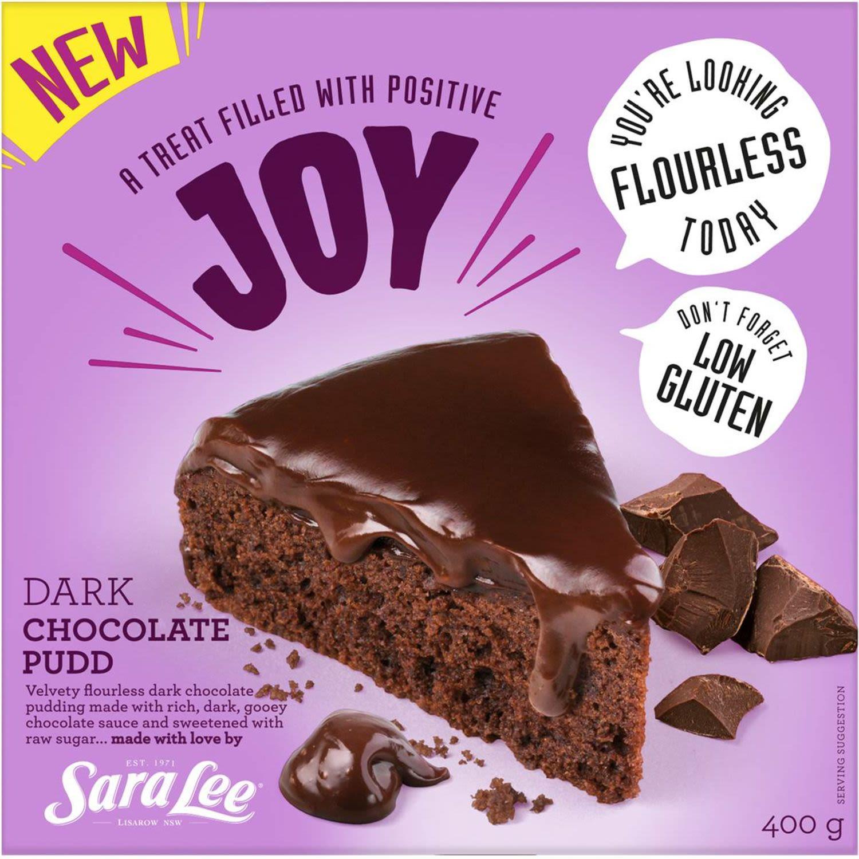 Sara Lee Dark Chocolate Pudding, 400 Gram