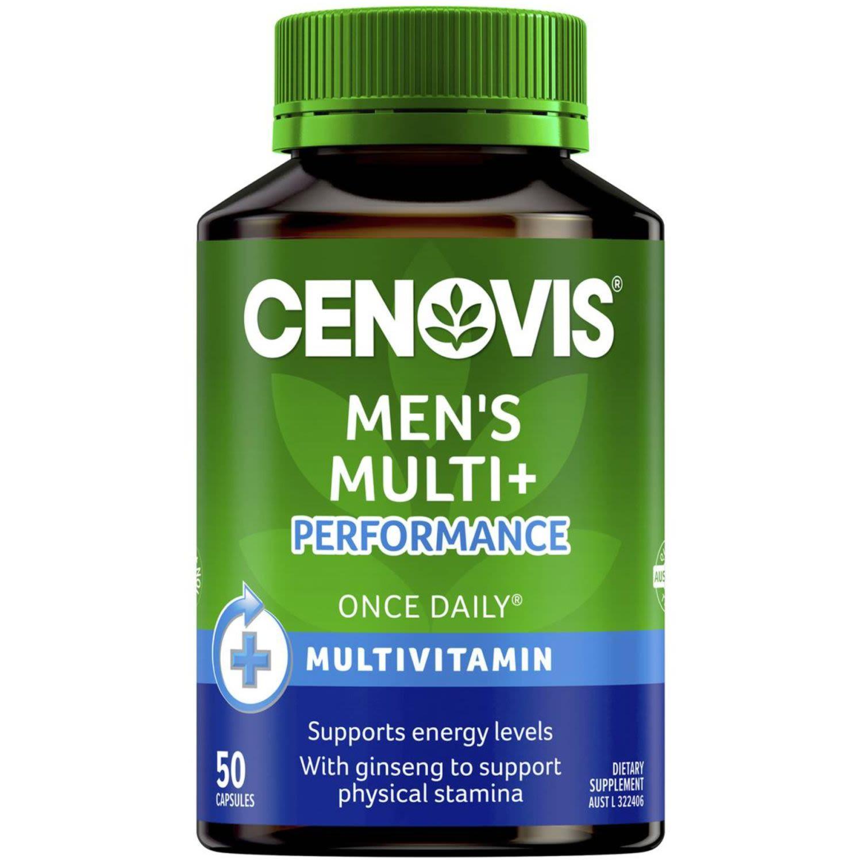 Cenovis Once Daily Men's Plus Multi Performance, 50 Each