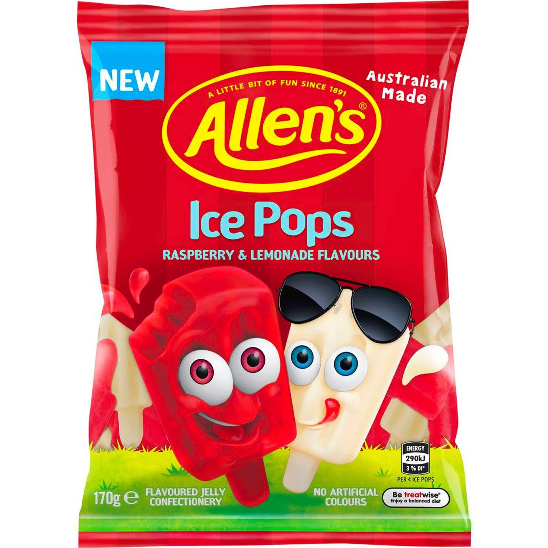 Allen's Ice Pops, 170 Gram