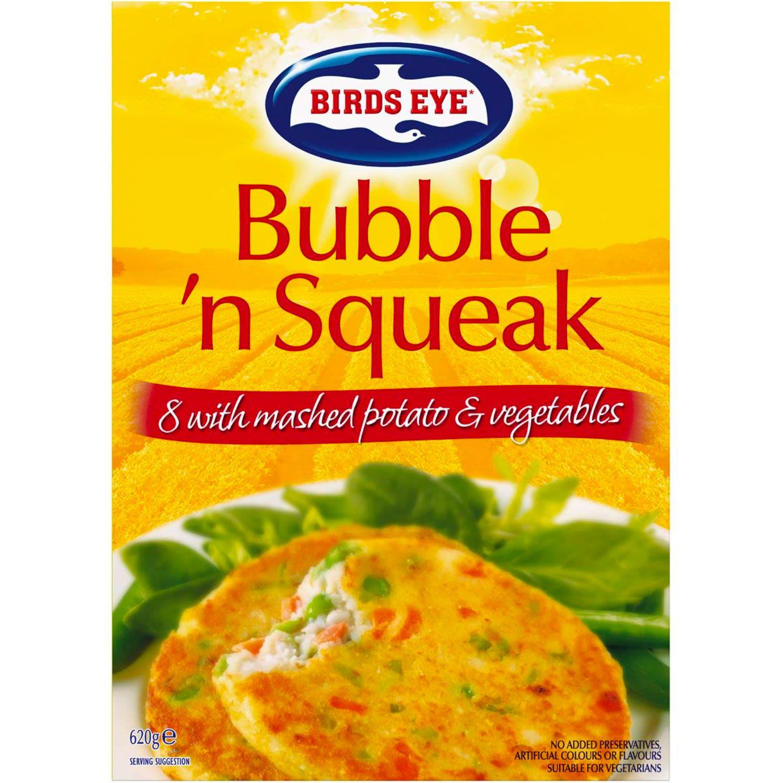 Birds Eye Bubble & Squeak Vegetable Patties, 8 Each