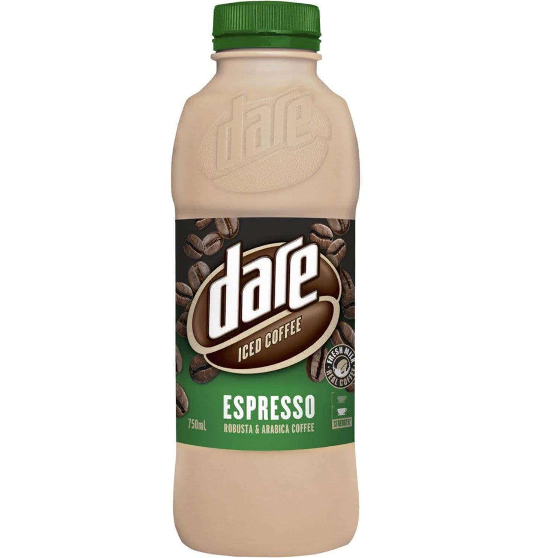 Dare Iced Coffee Espresso Robusta & Arabica, 750 Millilitre