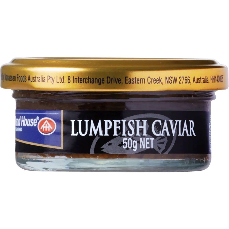 Holland House Caviar Black, 50 Gram