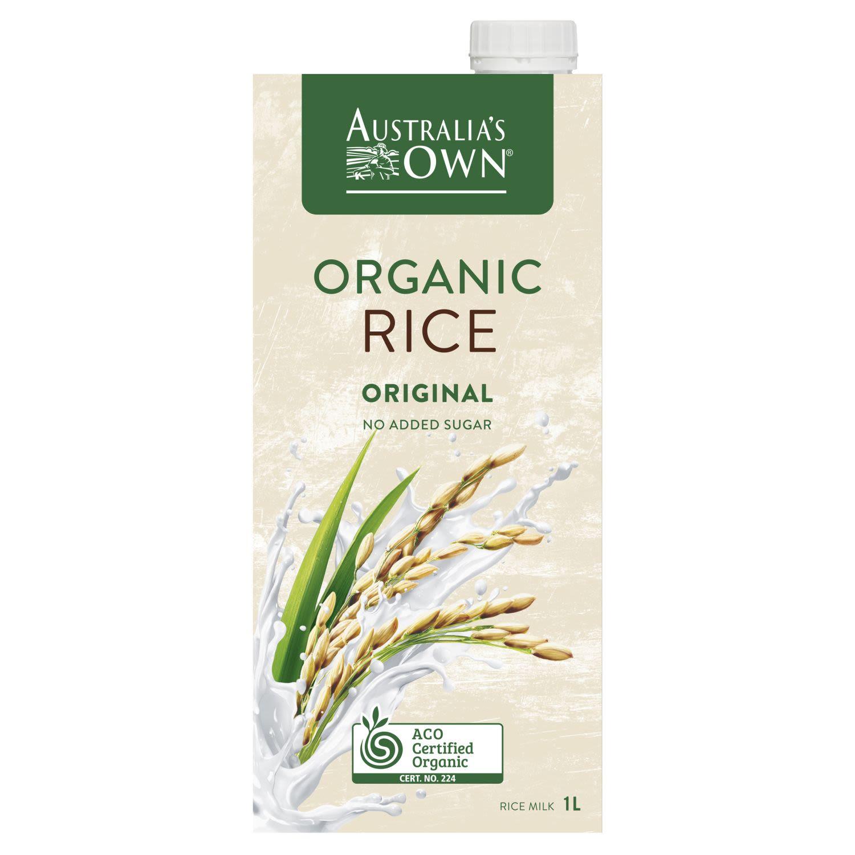 Australia's Own Organic Rice Milk, 1 Litre