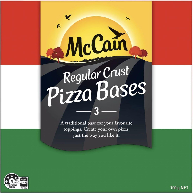 McCain Pizza Base Regular Crust, 700 Gram