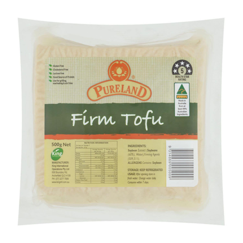 Pureland Organic Tofu, 500 Gram