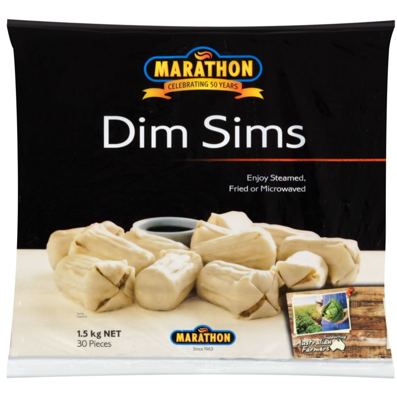 Marathon Dim Sims, 1.5 Kilogram