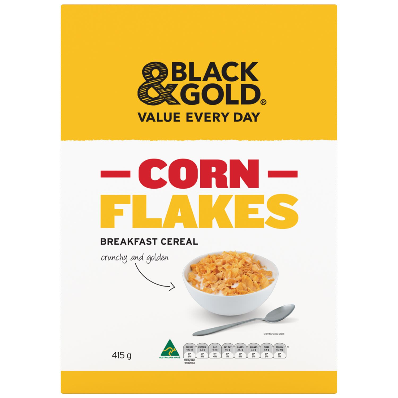 Black & Gold Cornflakes, 415 Gram