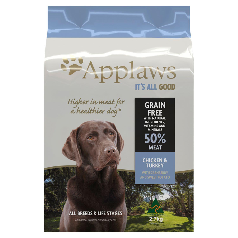 Applaws Dog Dry food Chicken & Turkey Flavour, 2.7 Kilogram