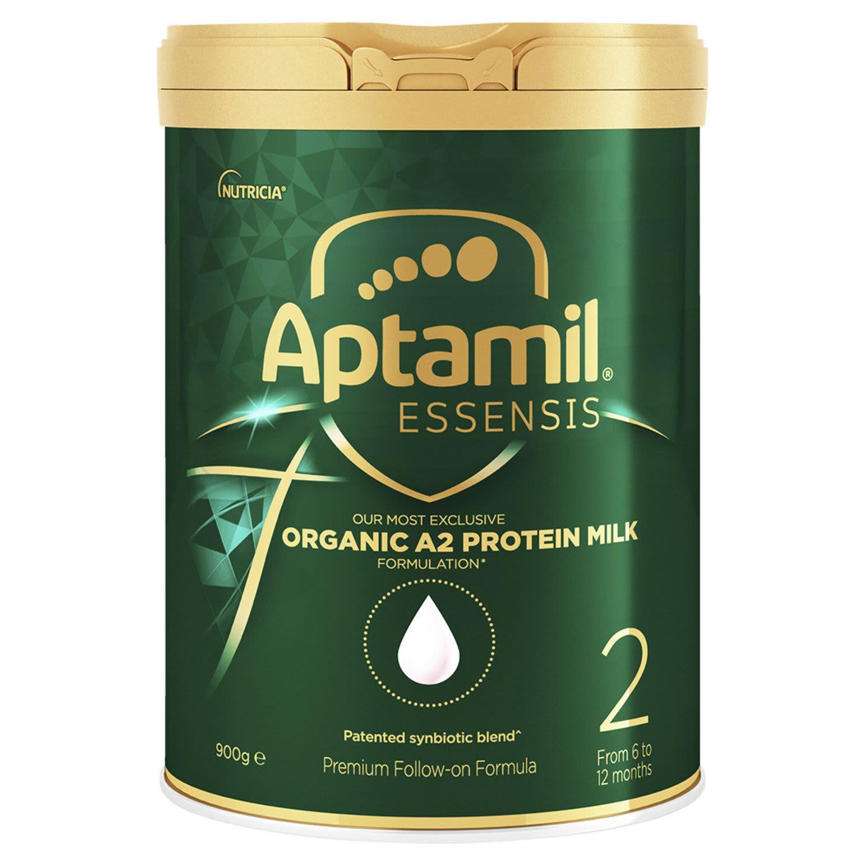 Aptamil Essensis Organic A2 Protein Milk 2 Premium Follow-On Formula From 6-12 Months, 900 Gram