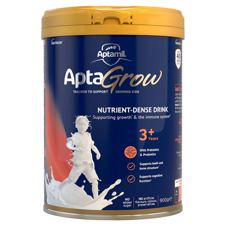 Aptamil AptaGrow Nutrient-Dense Milk Drink From 3+ Years, 70 Gram