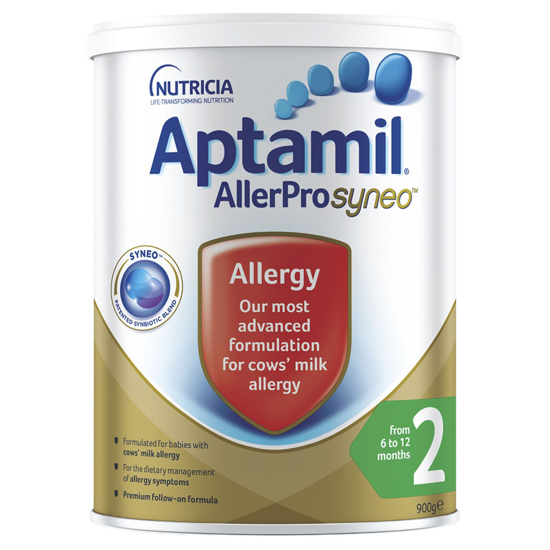 Aptamil AllerPro Syneo 2 Allergy Premium Baby Follow-On Formula From 6-12 Months, 900 Gram