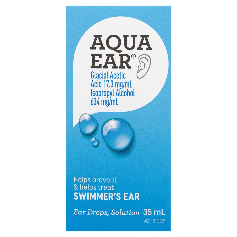 Aquaear Ear Drops Solution, 35 Millilitre