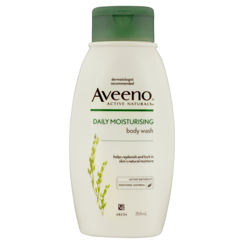 Aveeno Active Naturals Daily Moisturising Body Wash 354mL, 354 Millilitre