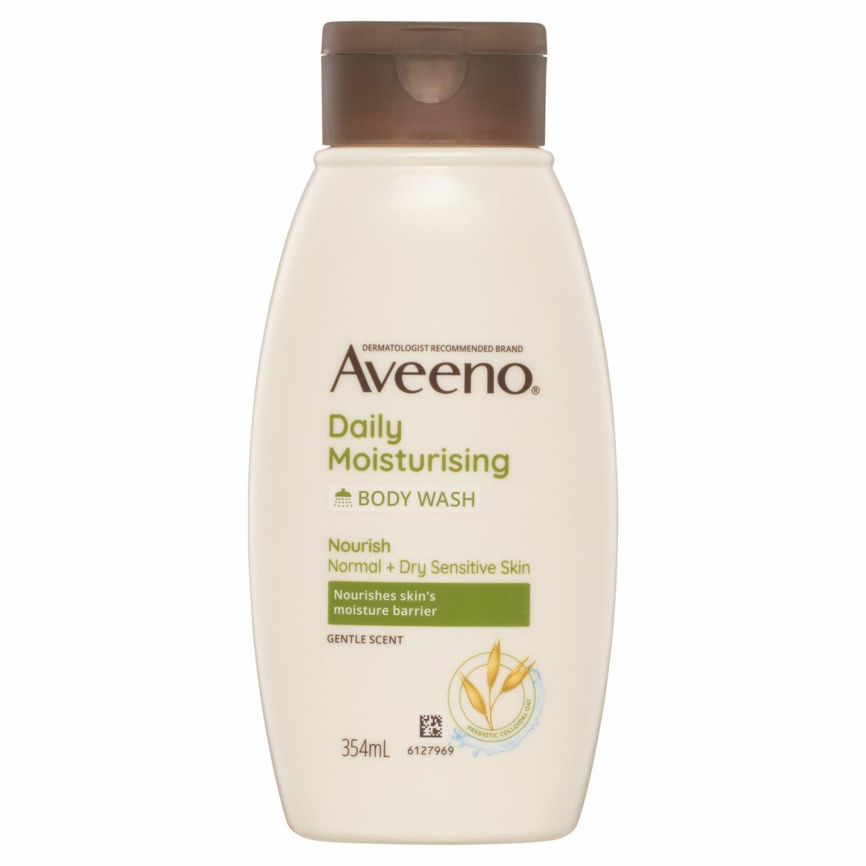 Aveeno Active Naturals Daily Moisturising Body Wash, 354 Millilitre