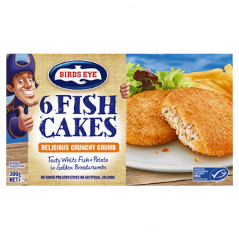 Birds Eye Fish Cake, 300 Gram