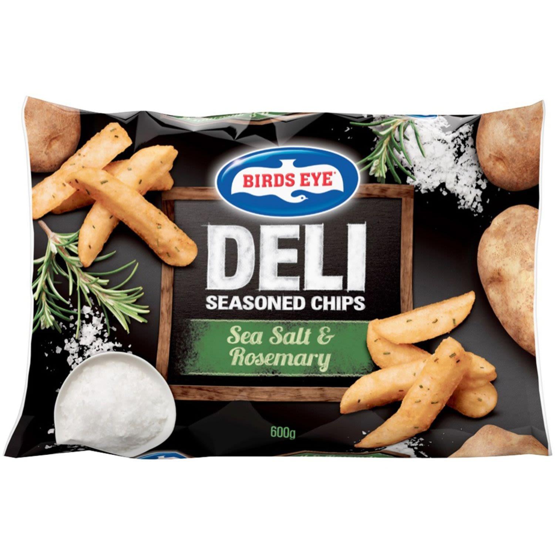 Birds Eye Sea Salt & Rosemary Deli Seasoned Chips, 600 Gram