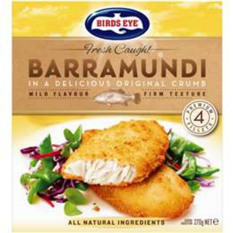 Birds Eye Fresh Caught Barramundi Original Crumb, 270 Gram