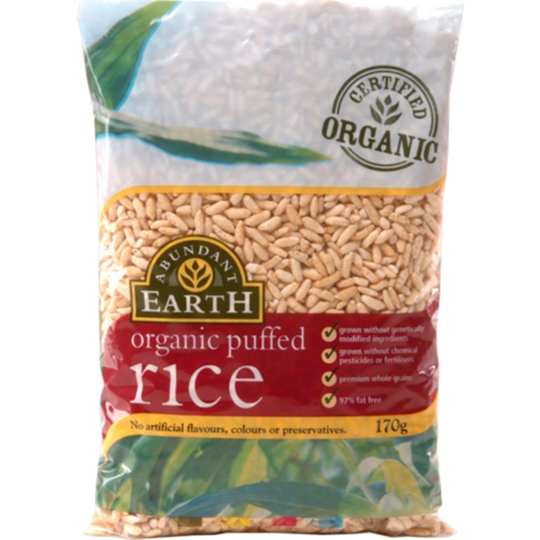 Abundend Earth Puff Rice, 170 Gram