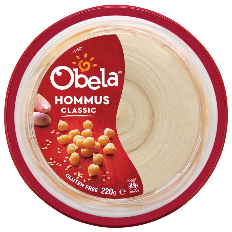 Obela Smooth Classic Hommus, 220 Gram