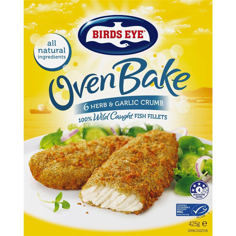 Birds Eye Oven Bake Herb & Garlic, 425 Gram