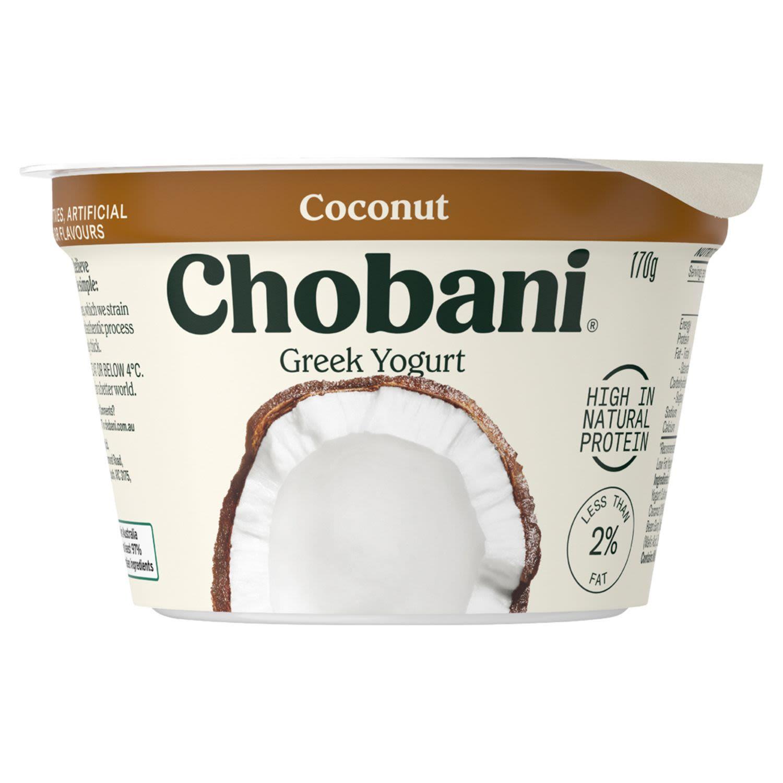 Chobani Yoghurt Pots Coconut, 170 Gram