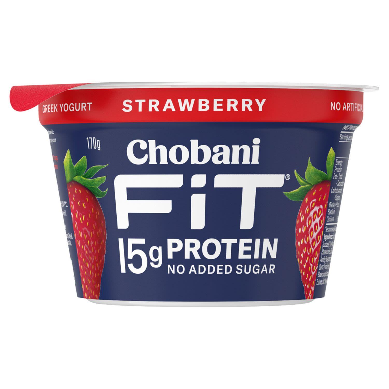 Chobani Yoghurt Fit Strawberry, 170 Gram