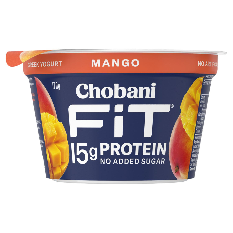 Chobani Yoghurt Fit Mango, 170 Gram