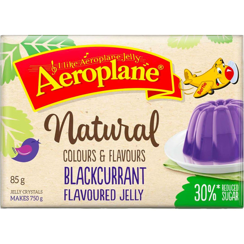 Aeroplane Reduced Sugar Jelly Blackcurrant, 85 Gram