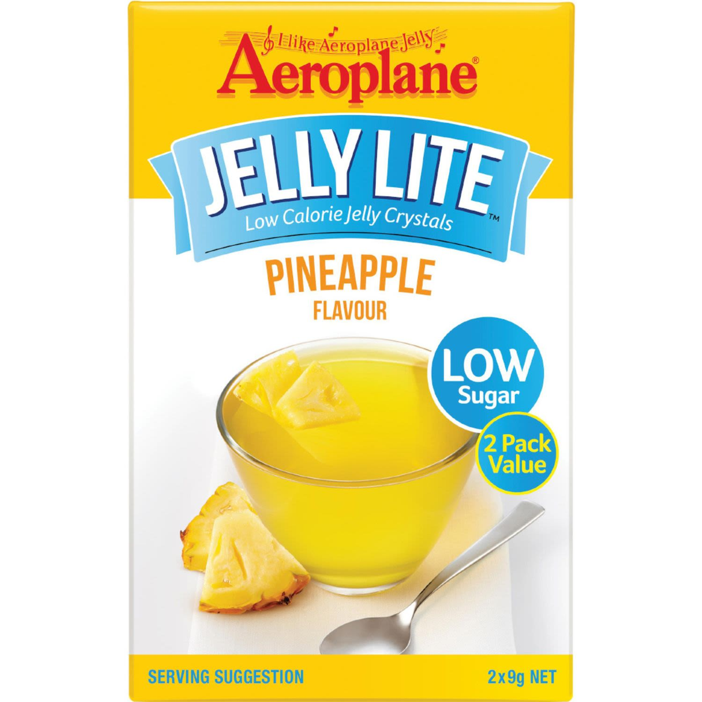 Aeroplane Lite Jelly Pineapple, 18 Gram