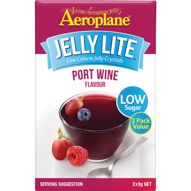 Aeroplane Lite Jelly Port Wine, 18 Gram