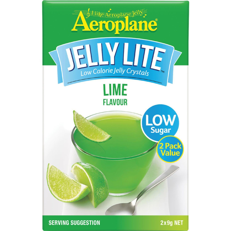 Aeroplane Lite Jelly Lime, 18 Gram