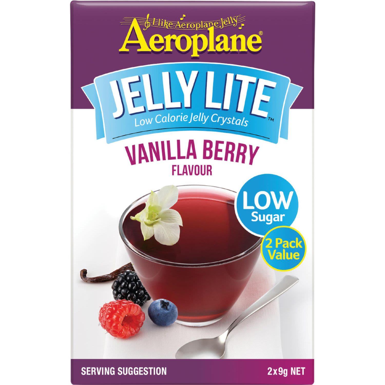 Aeroplane Lite Jelly Vanilla Berry, 18 Gram