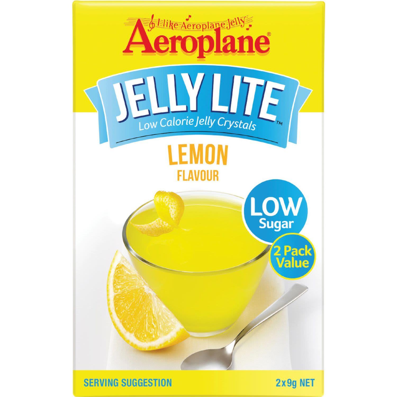 Aeroplane Lite Jelly Twin Lemon, 18 Gram