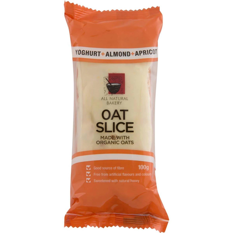 All Natural Bakery Bars Oat Slice Almond & Apricot, 100 Gram