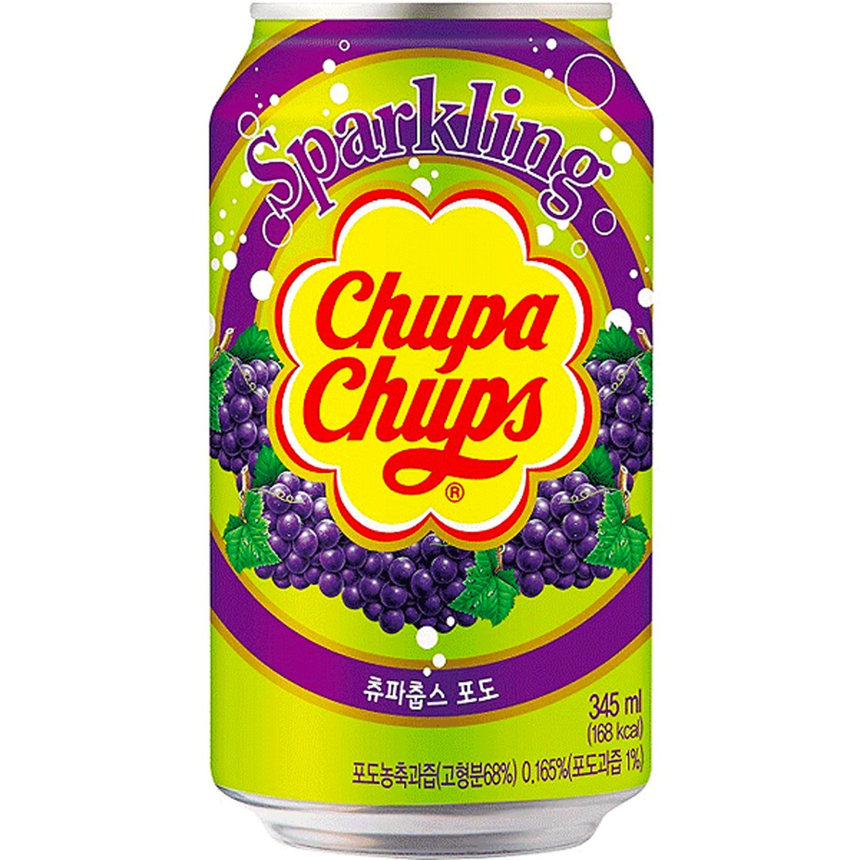 Chupa Chups Sparkling Grape Drink, 345 Millilitre