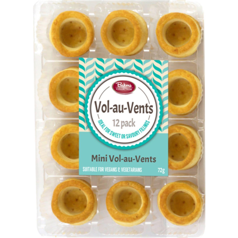 Bakers Collection Vol Au Vents Mini, 12 Each