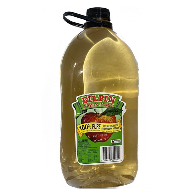 Bilpin Apple Juice, 3 Litre