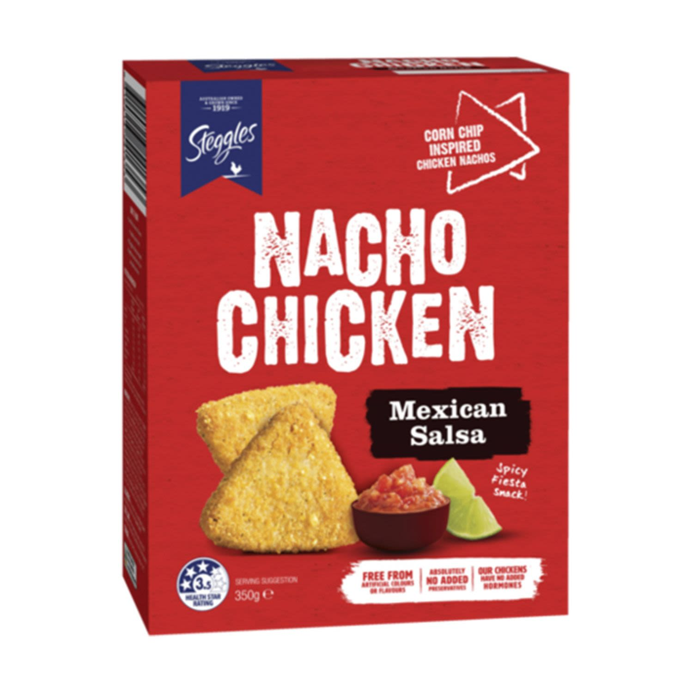 Steggles Nacho Chicken Mexican Salsa, 350 Gram