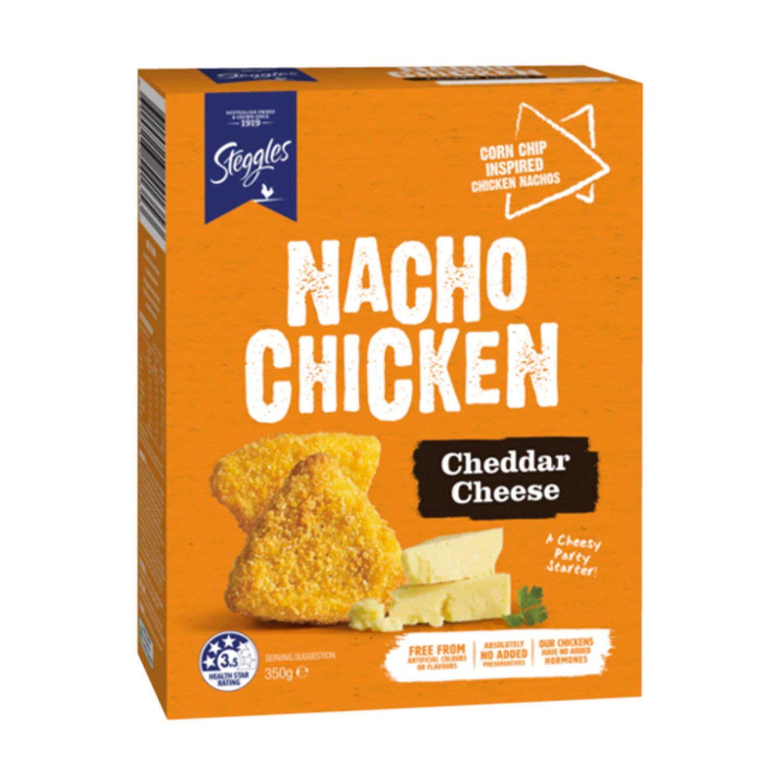 Steggles Nacho Chicken Cheddar Cheese, 350 Gram