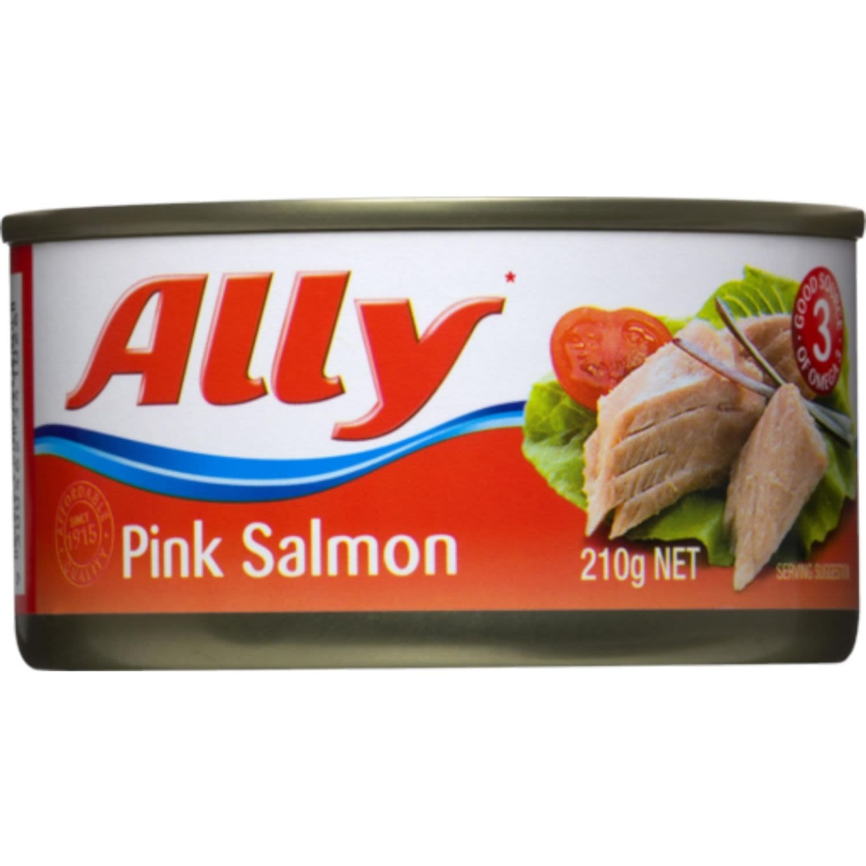 Ally Salmon Pink, 210 Gram
