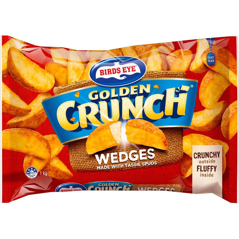 Birds Eye Golden Crunch Wedges, 1 Kilogram