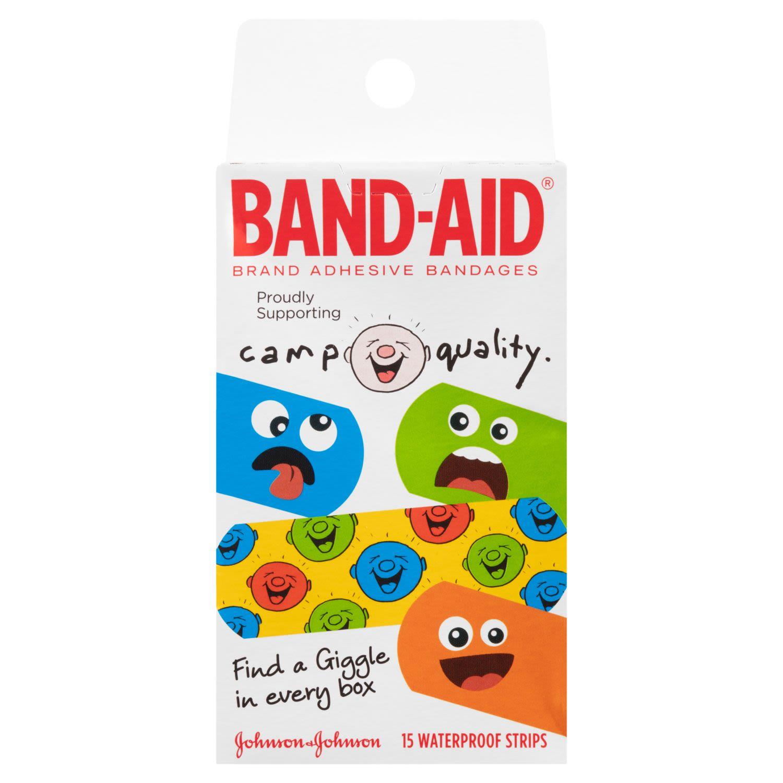 Band-Aid Camp Quality, 15 Each