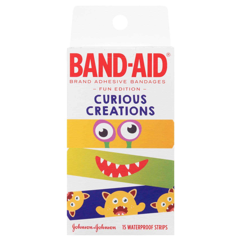 Band-Aid Curious Creations, 15 Each