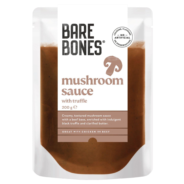 Bare Bones® Mushroom Sauce with Truffle, 200 Gram