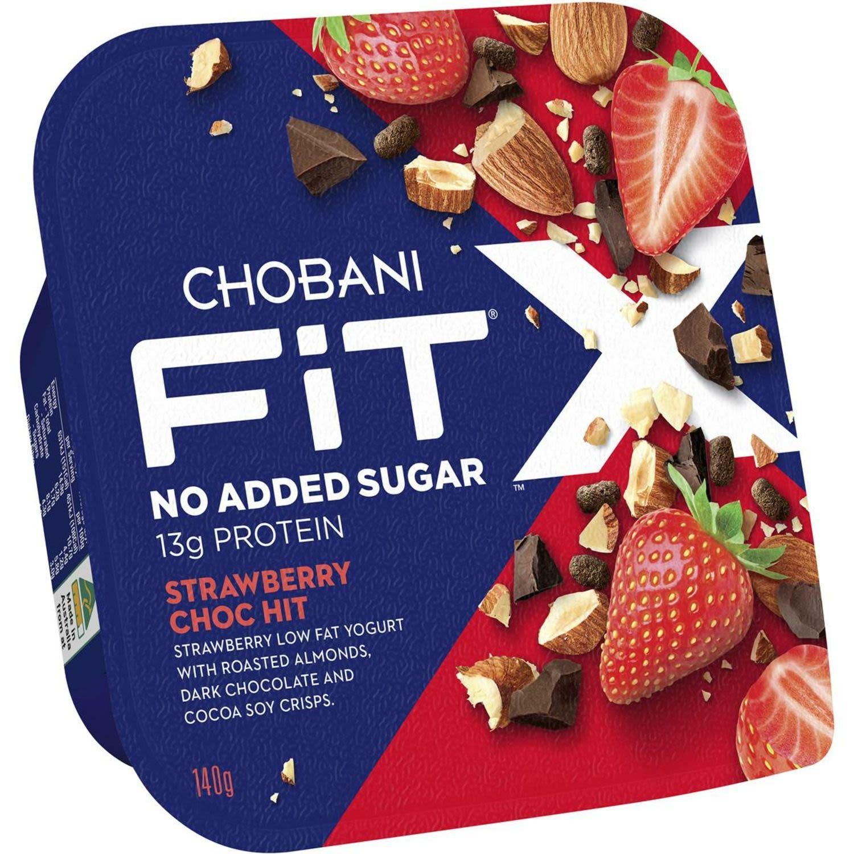 Chobani Fit X Strawberry Choc Hit, 140 Gram
