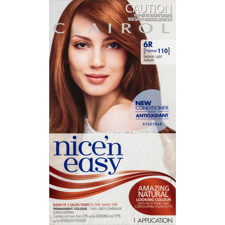 Clairol Nice 'N Easy 6R Natural Light Auburn, 1 Each