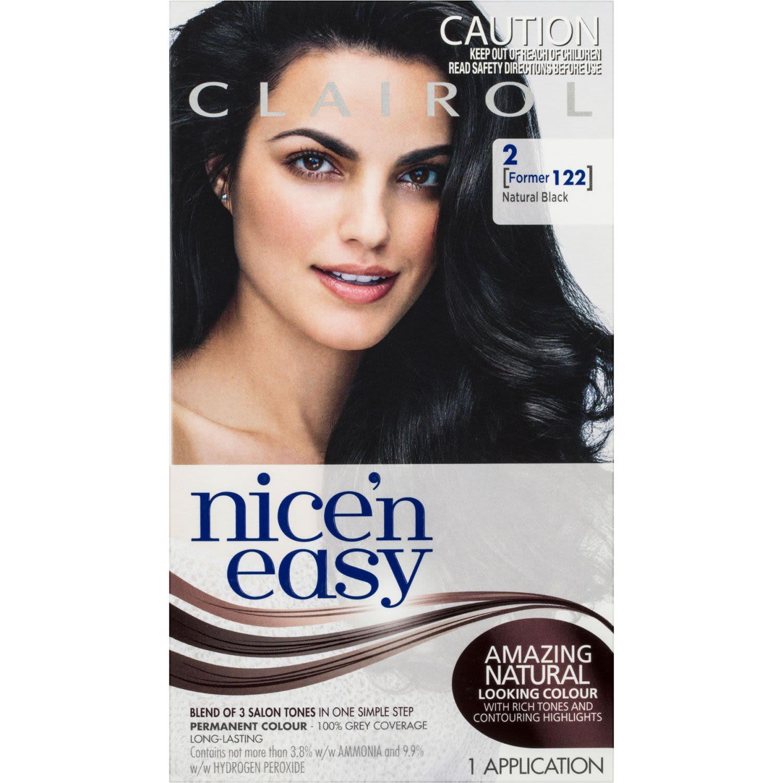 Clairol Nice 'N Easy 2 Natural Black, 1 Each
