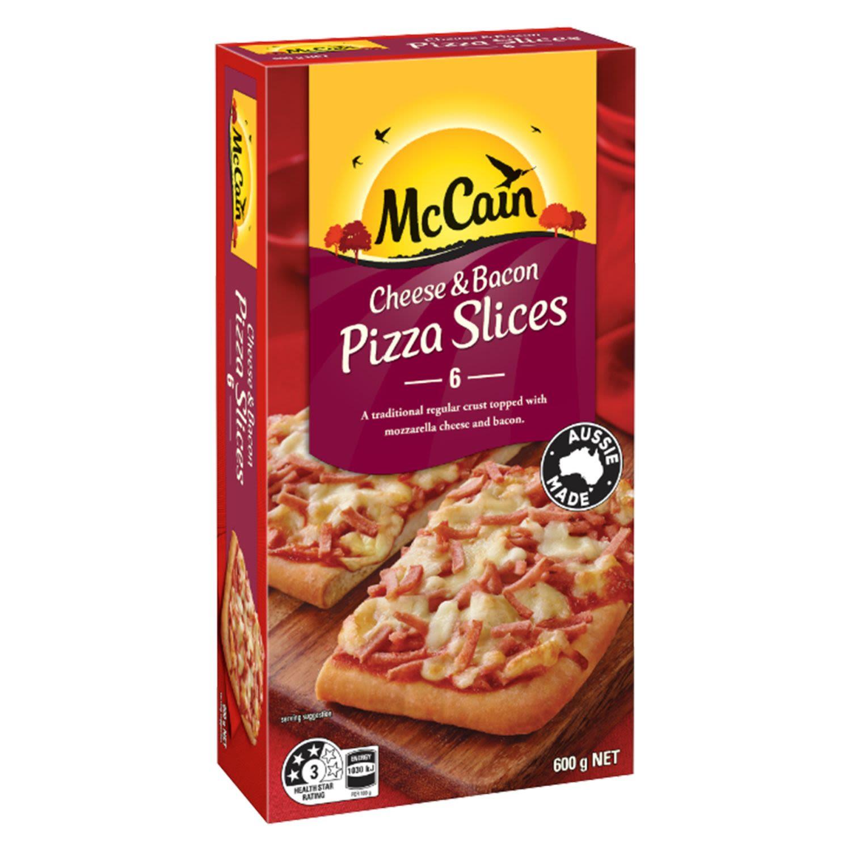 McCain Pizza Singles Cheese & Bacon, 400 Gram